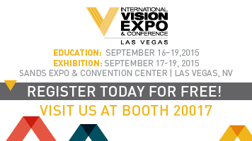 Dolabany at Vision Expo West Booth 20017 Banner