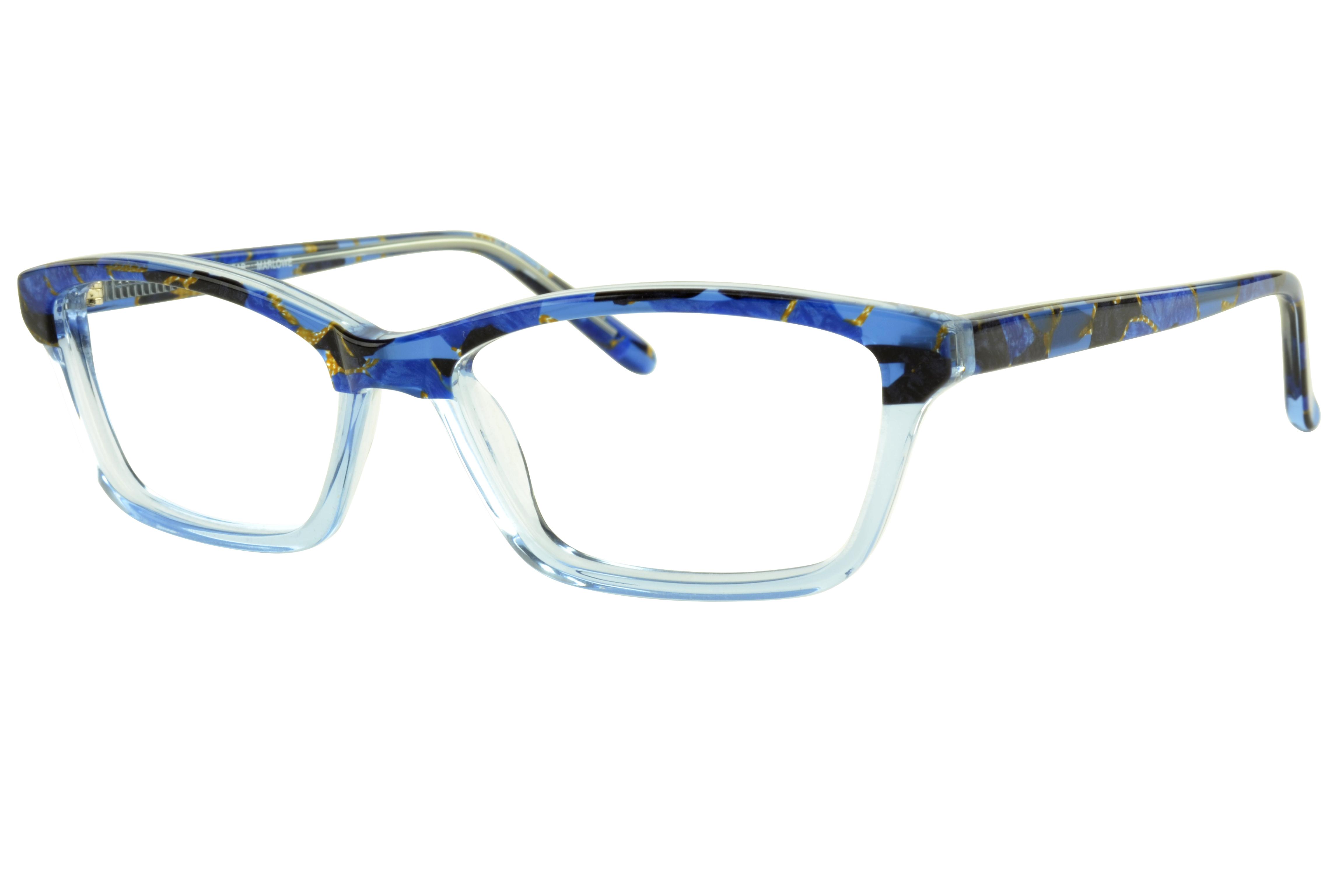Dolabany Eyewear Marlowe Blue Crystal