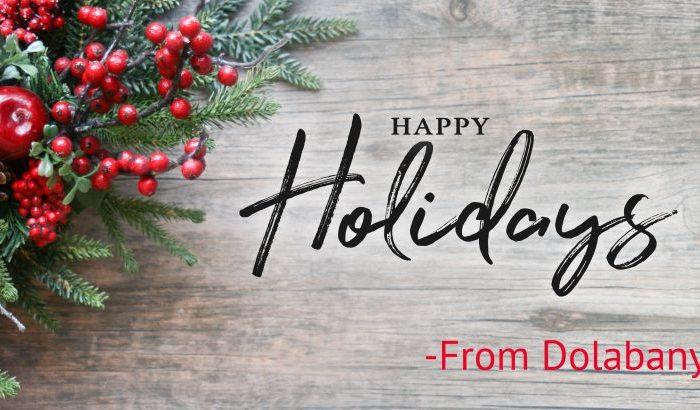 Happy Holidays From Dolabany