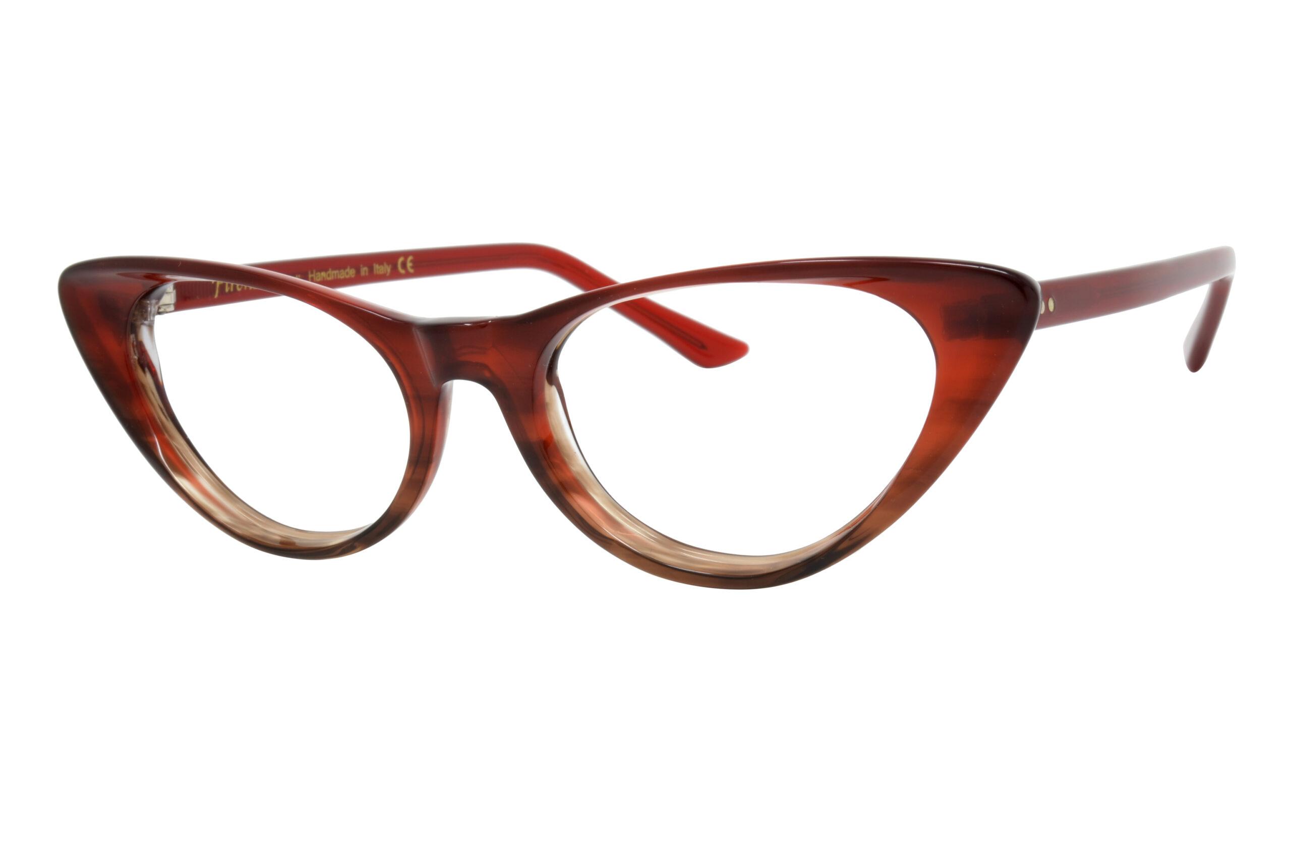 Dolabany Eyewear Firenze Occhiali Volterra Burgundy Brown
