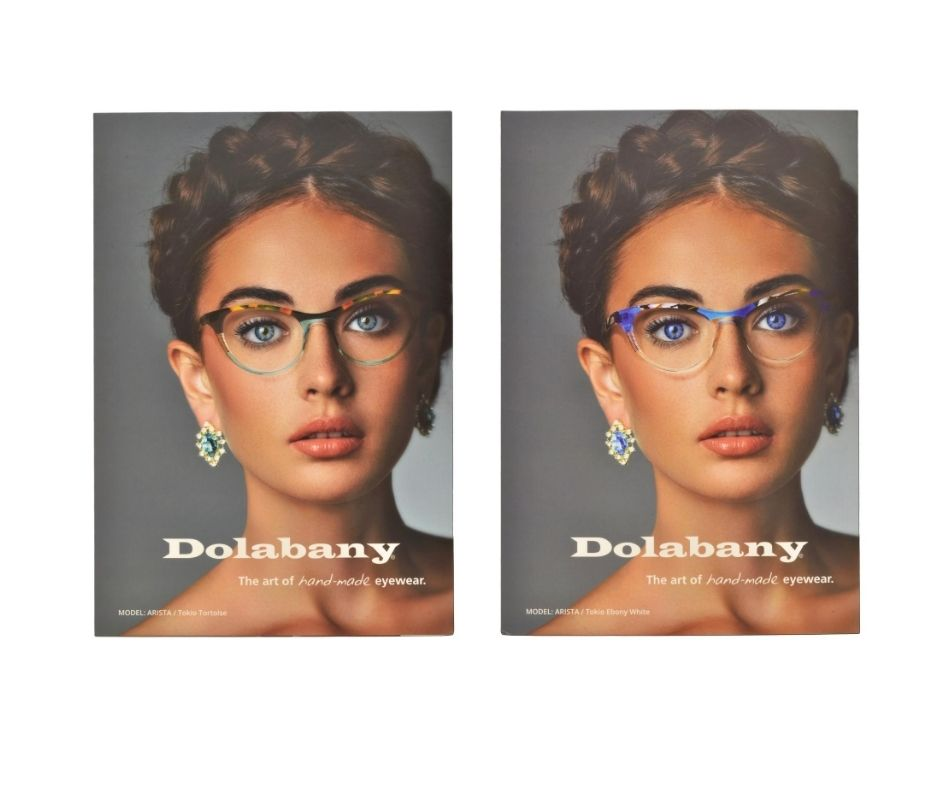 Dolabany Eyewear Arista Counter Card