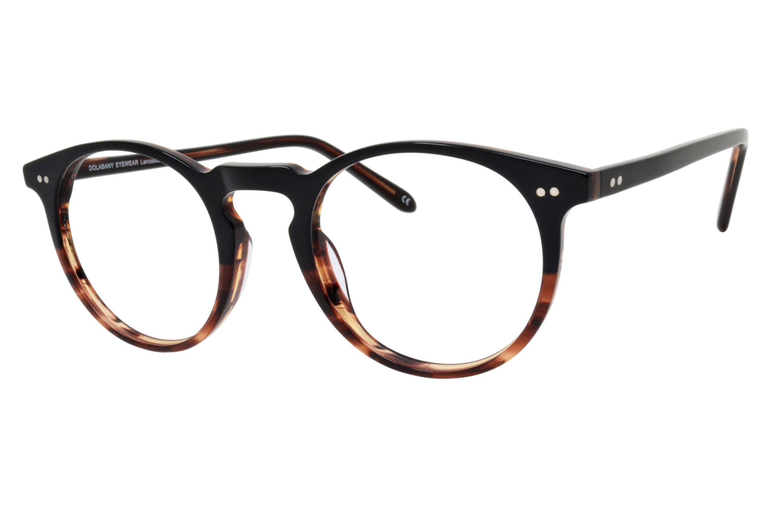 Dolabany Eyewear Lancaster Ebony Syrup