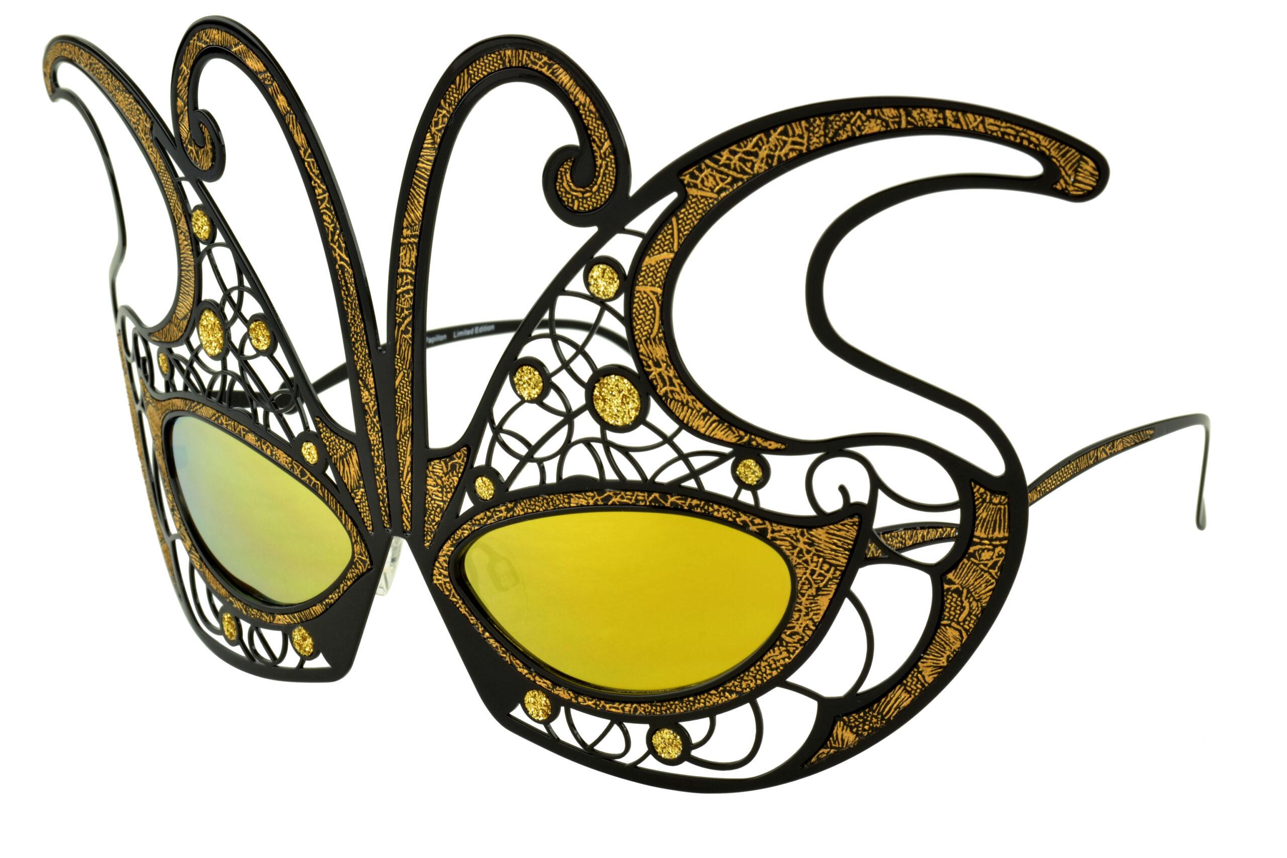 Fantasy Mask Papillion Black