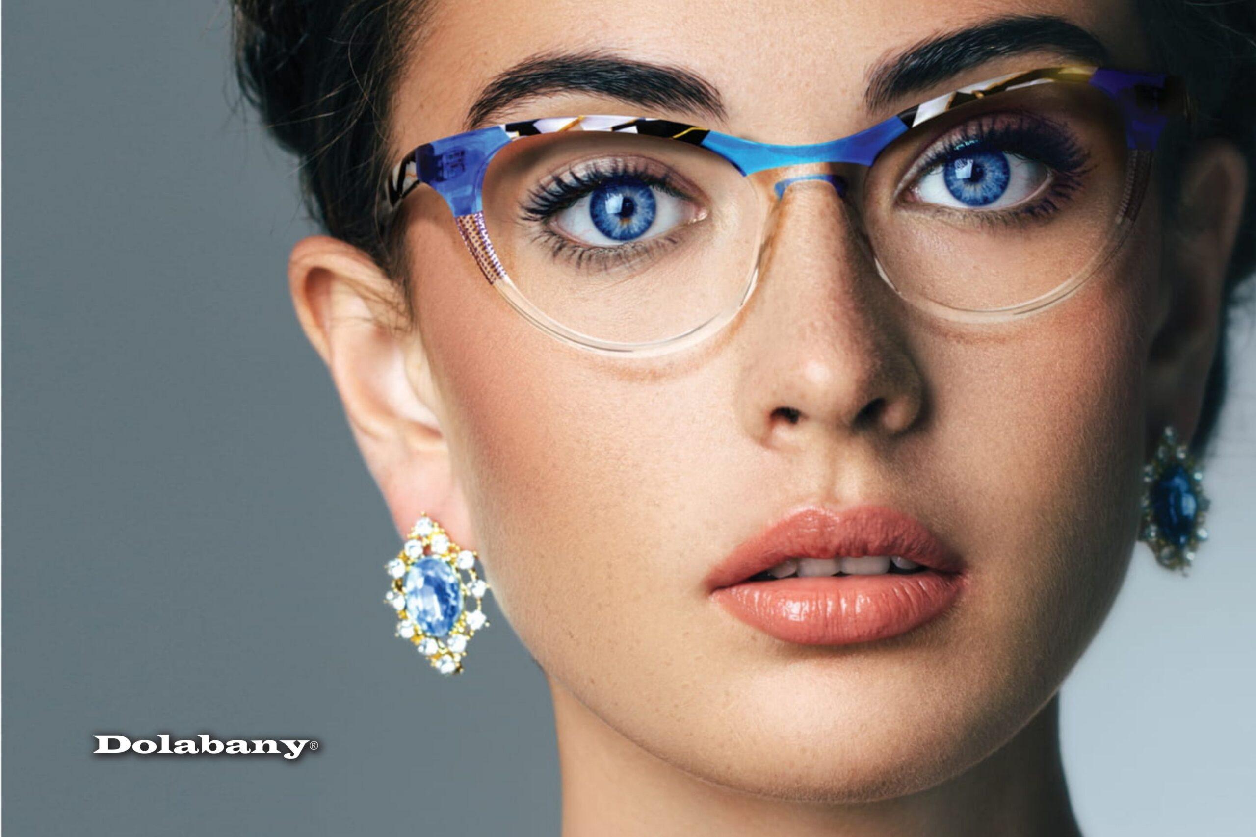 Dolabany Eyewear Arista Brand Image Ebony White